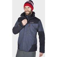 Berghaus Mens Arran Waterproof Jacket, Dark Grey/Black