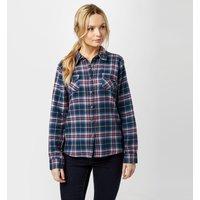 Brakeburn Womens Check Flannel Shirt  Navy