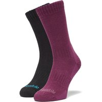 Bridgedale Women's Dingle Socks 2 Pack, Multi