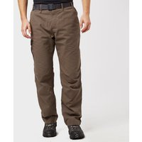 Brasher Mens Lined Walking Trousers  Brown