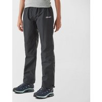 BERGHAUS Kids' Drift Waterproof Over Trousers, Black