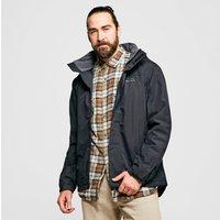 Peter Storm Mens Downpour 2-Layer Jacket, Black/BLK