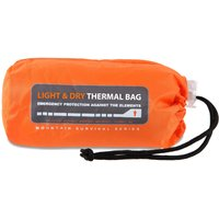 Lifesystems Light And Dry Thermal Bivi  Orange