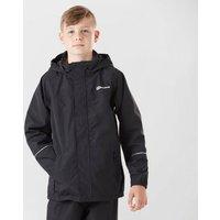 Berghaus Kids' Callander Waterproof Jacket, Black