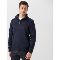 Brasher Men's Rydal Half-zip Fleece, Navy