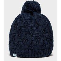 Alpine Women's Sapphire Bobble Hat, NAVY/NAVY
