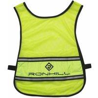 Ronhill Unisex Vizion Hi-Vis Running Bib, YELLOW/BIB