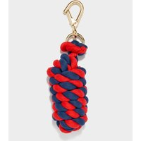 Shires Two Tone Headcollar Rope  Navy/red