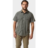Craghoppers Mens Kiwi Short Sleeved Shirt, DARK GREY/SHIRT