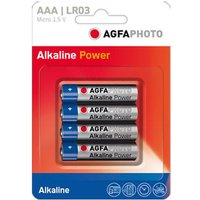 AGFA AAA Digital Alkaline Battery (4 pack), NOCOLOUR/P