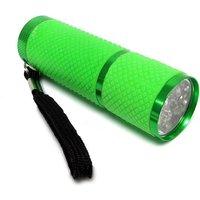 HI-GEAR 9 LED Lumi Glow Torch, GREEN/TORCH