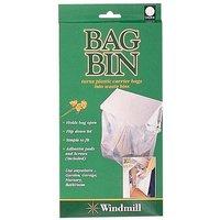 Quest Carrier Bag Bin, WHITE/BIN