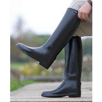 Shires Men's Long Rubber Riding Boots, BLACK/BOOT