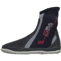 GUL All Purpose 5mm Junior Boot, BLACK-GREY/JNR