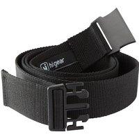 HI-GEAR Plastic Buckle Belt, BLACK/BELT