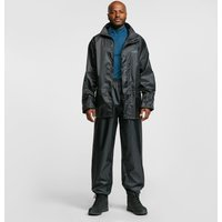 FREEDOMTRAIL Essential Waterproof Suit (Unisex), BLACK/SUIT