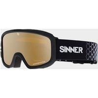 Sinner Duck Mountain Kids' Ski Goggles, MATTE BLACK 2/JNR
