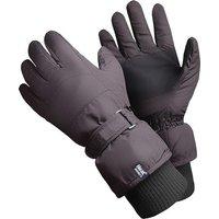 Heat Holders Men's Ski Gloves, Black