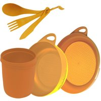 Sea To Summit Delta Camp Set (Bowl, Plate, Mug, Cutlery), ORANGE/SET