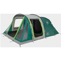 COLEMAN Mosedale 5 Family 5 Person Tent, GREEN-GREY/5