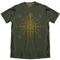 Dare2b Resonance Kids Waterproof Jacket - Size: 34 - Colour: Fairway Green