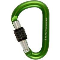 Metolius Element Keylock Carabiner  Green