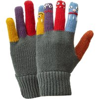 HI-GEAR Kids' Puppet Gloves, DARK GREY/GLOVE
