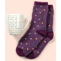 Handy Heroes Mug & Fluffy Socks, NOCOLOUR/SOCKS