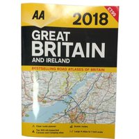 AA Great Britain and Ireland Road Atlas 2018, NOCOLOUR/2018