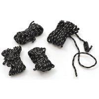 Hi-gear Reflect Ropes (4mm X 4m)  Black