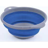 HI-GEAR Folding Compact Bowl, BLUE/GREY