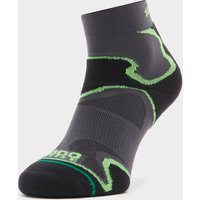 1000 Mile Mens Fusion Anklet Sock - Size: L - Colour: Black