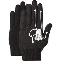 HI-GEAR Kids' Glow-in-the-Dark Gloves, BLACK/GLO