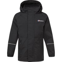 BERGHAUS Kids' Callander Waterproof Jacket, BLACK/JKT