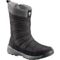 Columbia Women's Meadows Omni-Heat 3D Snow Boots, BLACK-DRK STONE/WOME