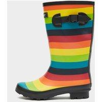 COTSWOLD Multicoloured Rainbow Jnr Wellington Boots, Multi Coloured