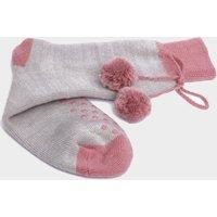 Handy Heroes Pom Pom Lounge Socks Gift Set, GREY/SOCKS