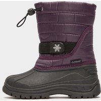 COTSWOLD Kids' Icicle Snow Boot, PURPLE/KIDS