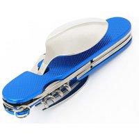 HI-GEAR Pocket Picnic Tool, BLUE/SILVER