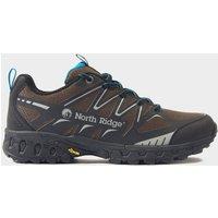 North Ridge Men's Blazer TR Trail Running Shoe, BLUE BLACK WHIT/BROWN