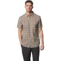 Craghoppers Mens Giovanni Short Sleeve Shirt  Dark Grey