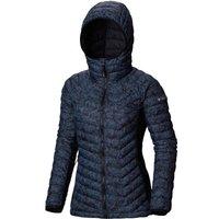 Columbia Women's Powder Pass Hooded Insulated Jacket, NAVY/WM