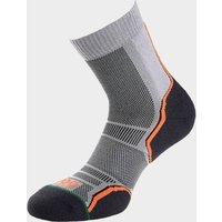 1000 MILE Men's Trail Sock (Twin Pack), ORANGE GREY/PACK
