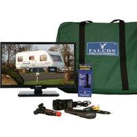 "Falcon TV Plus Bluetooth Pack - 22"" LED TV, 12V & Mains with Magnetic Mount, NO COLOUR/KI"