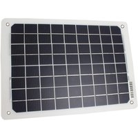 Falcon 10W Portable Solar Panel Battery Charger, NO COLOUR/PANEL