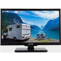 "Falcon 19"" HD Travel TV with DVD, Freeview, Freesat, USB,, NO COLOUR/BLUE"
