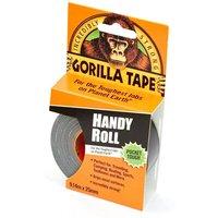 Gorilla Tape, Handy Roll (25mm x 9.1m), BLACK/ROLL
