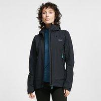 Rab Womens Arc Waterproof Jacket, Black
