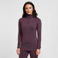 North Ridge Women's Ainslie Half Zip Pullover, Red/ZIP