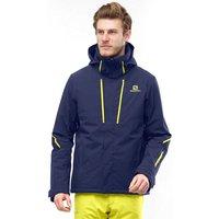 Salomon Mens Storm Season Jacket, Navy/JACKET